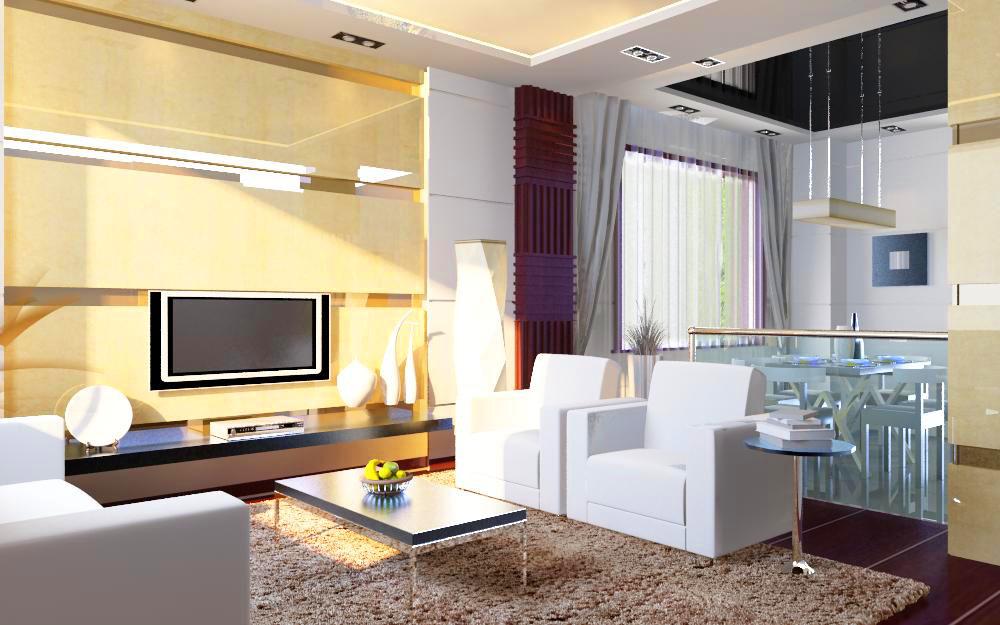 living room 1018 3d model max 122359