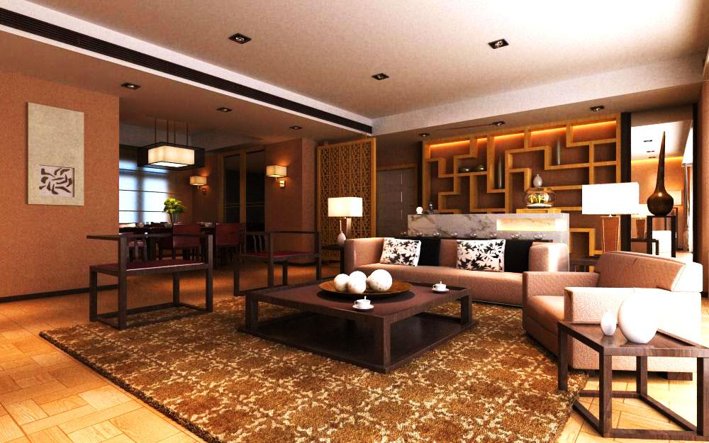 living room 1020 3d model max 122363