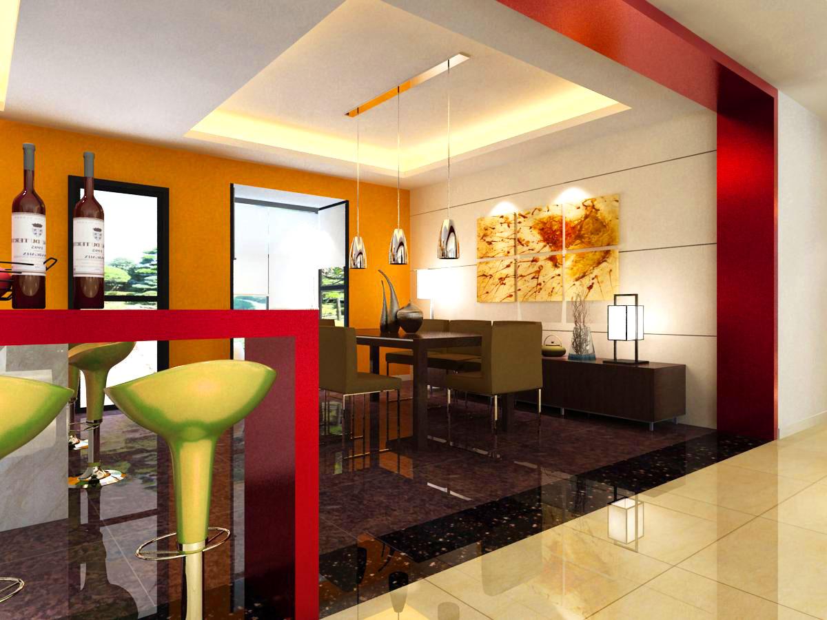 living room 1021 3d model max 122365