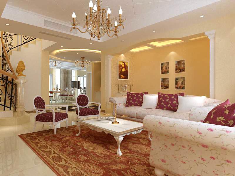 living room 1024 3d model max 122371