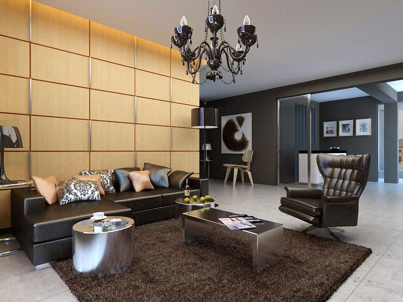 living room 1025 3d model max 122373