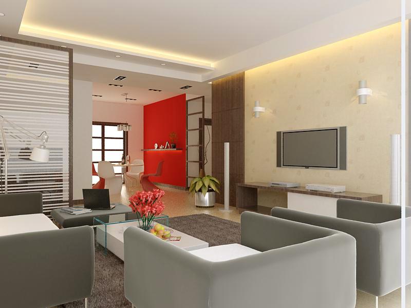 living room 1026 3d model max 122375
