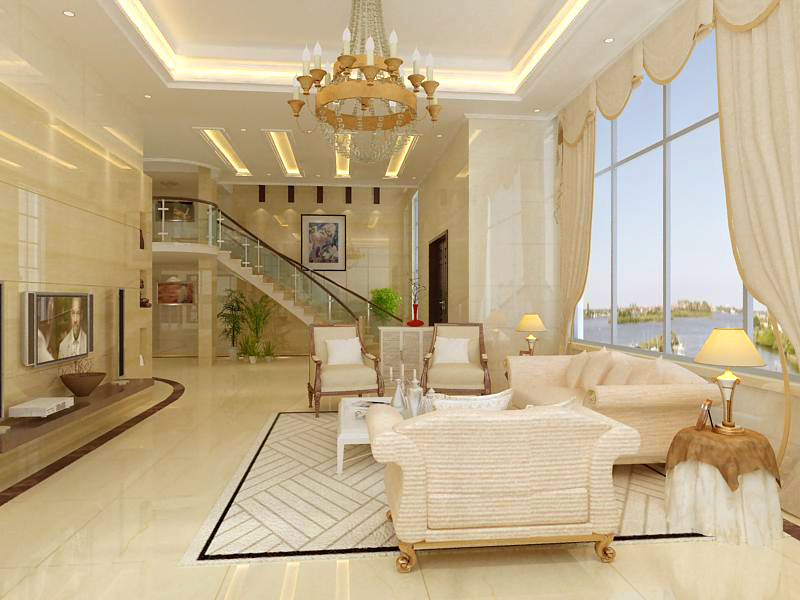 living room 1028 3d model max 122379