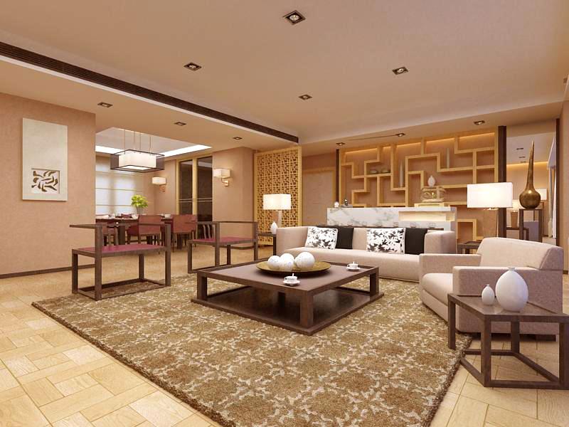 living room 1035 3d model max 122391