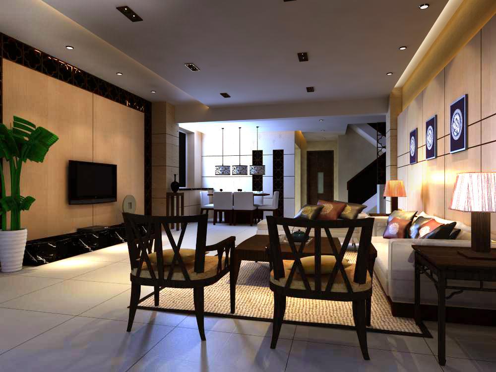 living room 1039 3d model max 122399