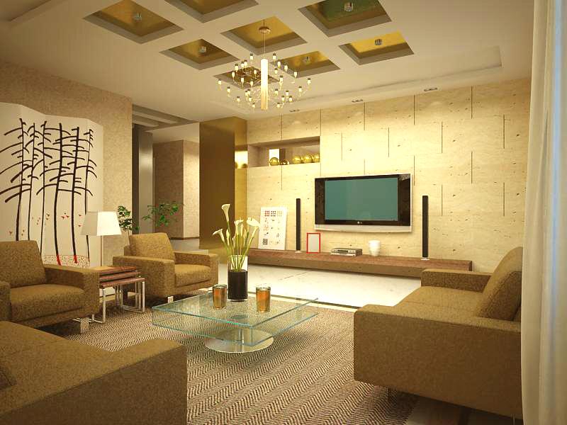 living room 1047 3d model max 122418