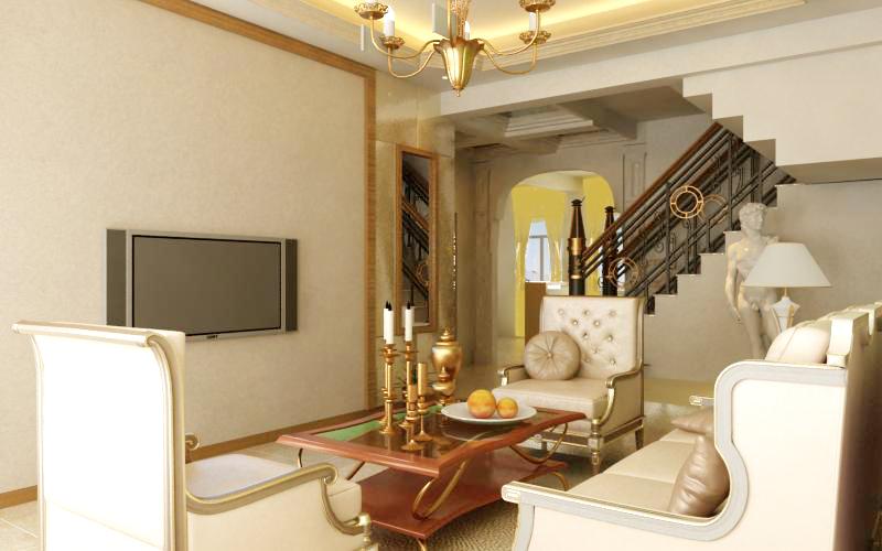 living room 1048 3d model max 122420