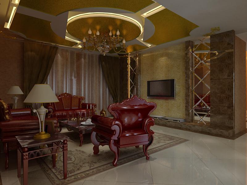 living room 1056 3d model max 122436