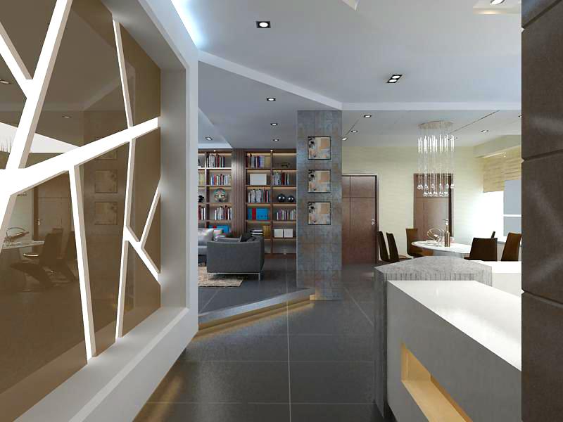 living room 1062 3d model max 122448
