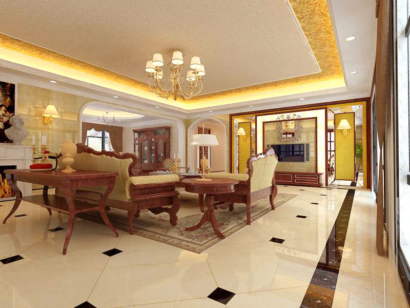 living room 1064 3d model max 122452