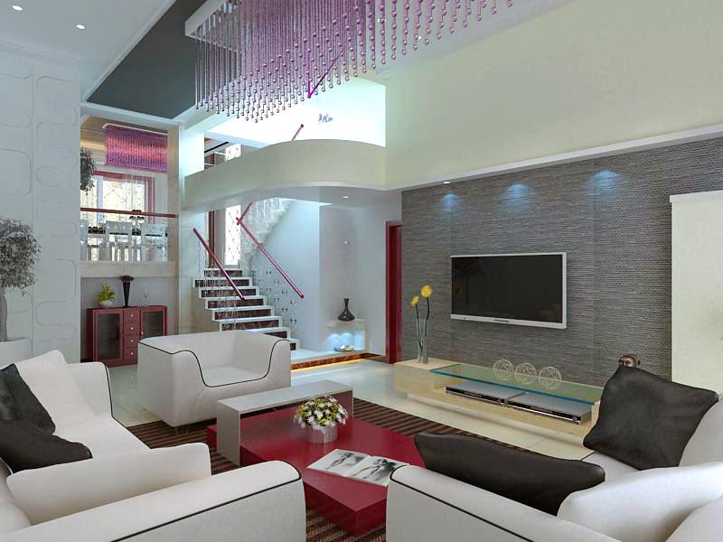 living room 1077 3d model max 122478
