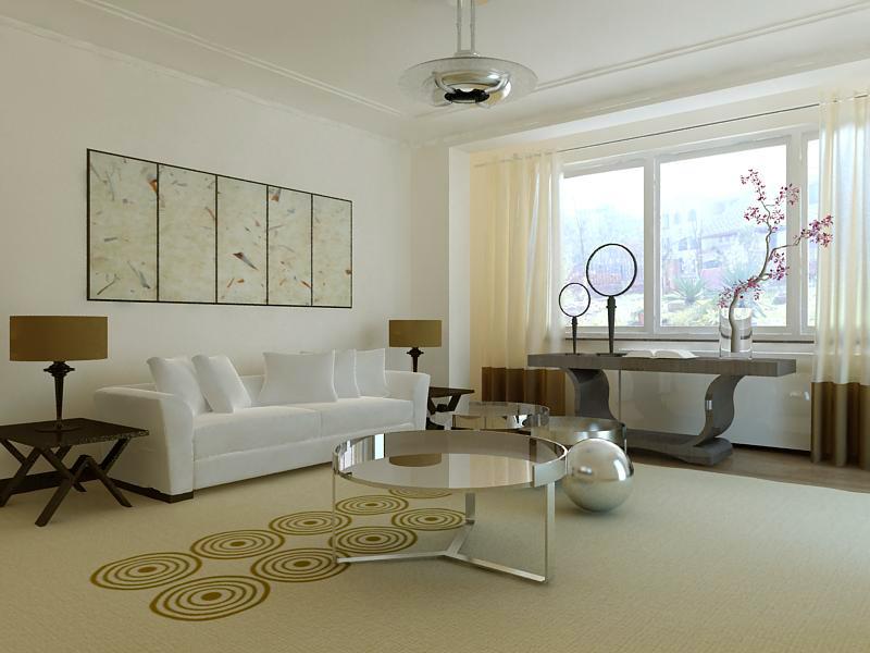 living room 1082 3d model max 122488