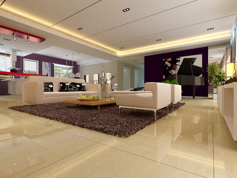 living room 1086 3d model max 122496