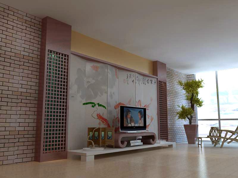 living room 1091 3d model max 122506