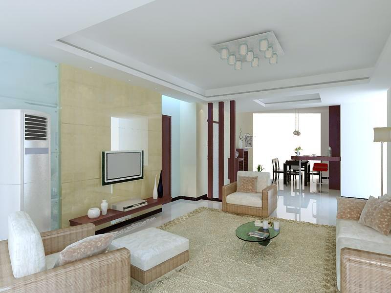 living room 1092 3d model max 122508