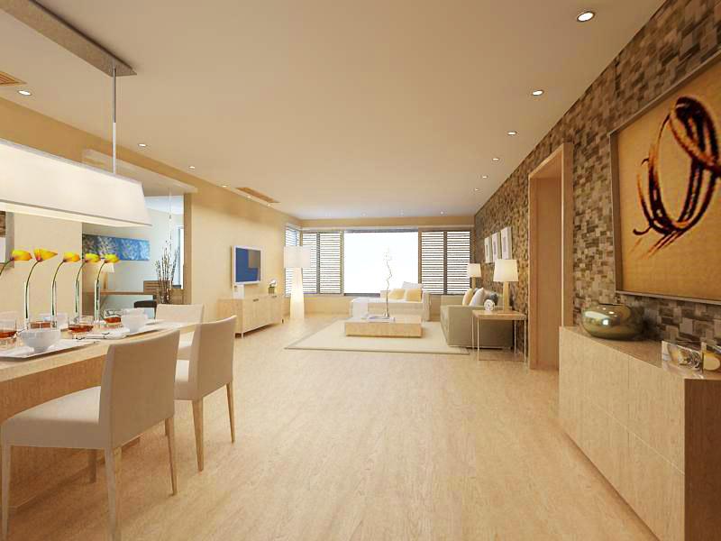 living room 1095 3d model max 122514