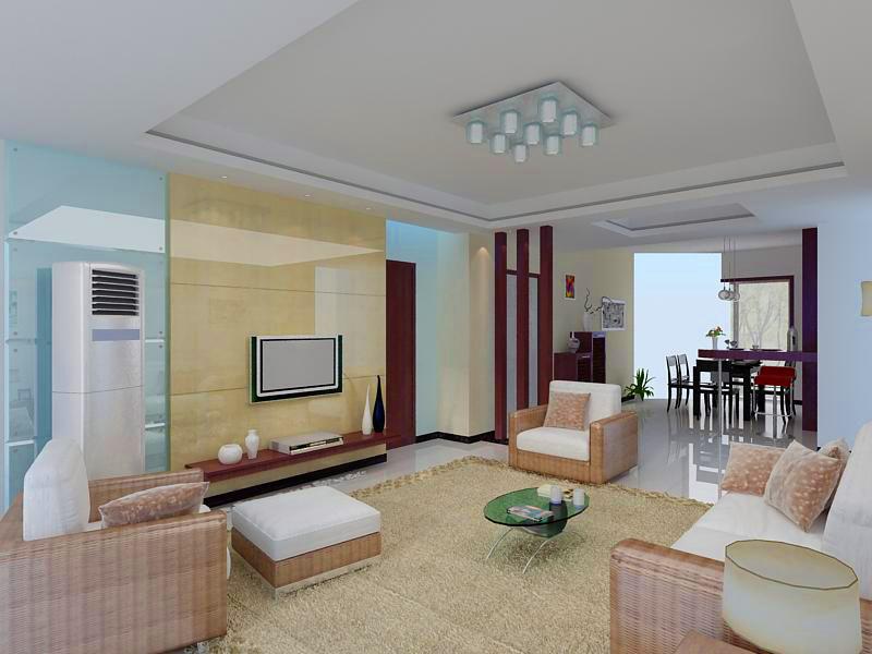 living room 1096 3d model max 122516