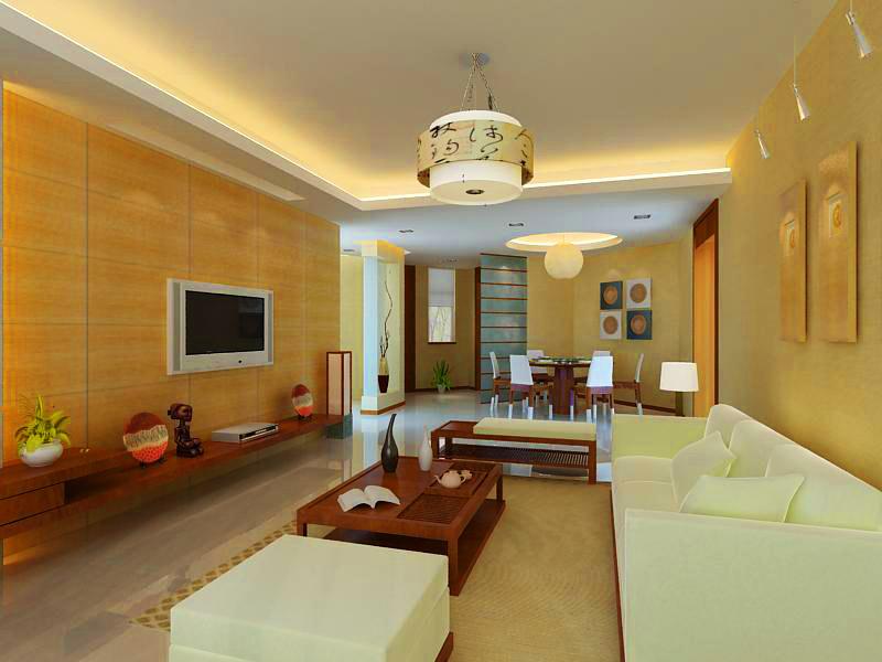 living room 1099 3d model max 122522