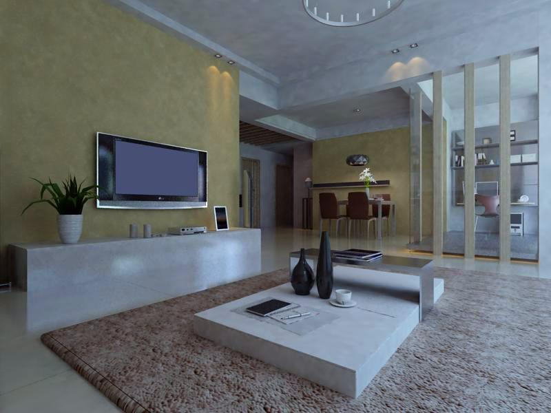 living room 1105 3d model max 122534