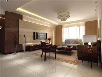 living room 12 3d model max 94400