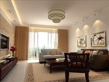 living room 12 3d model max 94401