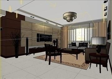 living room 12 3d model max 94402