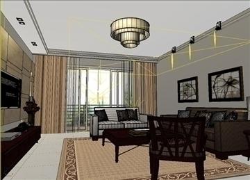 living room 12 3d model max 94403