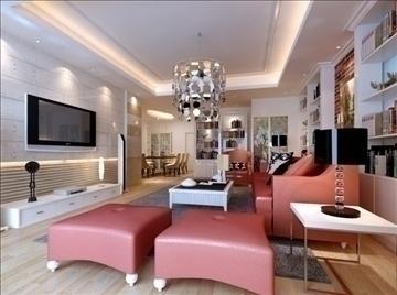 living room 13 3d model max 94404