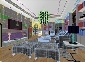 living room 13 3d model max 94405
