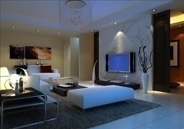 living room 14 3d model max 94419