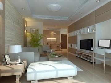 living room 15 3d model max 94421