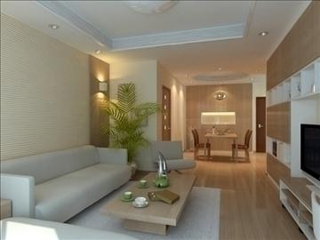 living room 15 3d model max 94422