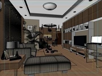 living room 15 3d model max 94423