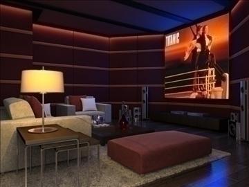 living room 16 3d model max 94424