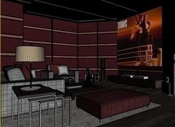 living room 16 3d model max 94425