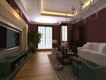 living room 18 3d model max 94432