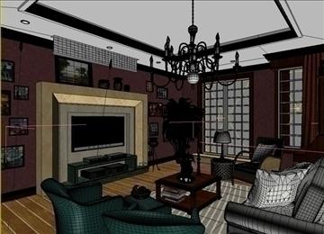 living room 18 3d model max 94433
