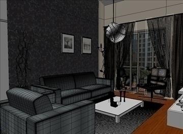 living room 19 3d model max 94438