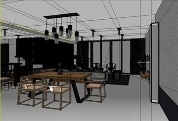 living room -2 3d model max 98867