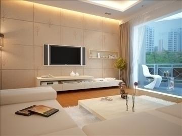 living room 20 3d model max 94464