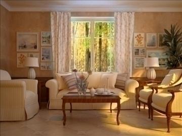 living room 21 3d model max 94466