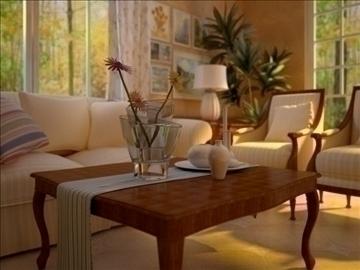 living room 21 3d model max 94467