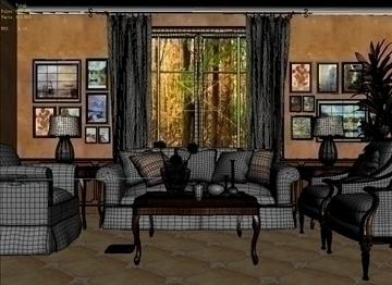 living room 21 3d model max 94468