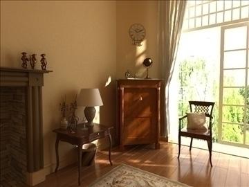 living room 22 3d model max 94469