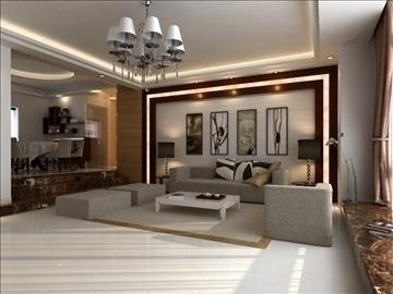 living room 24 3d model max 94619