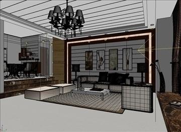 living room 24 3d model max 94621