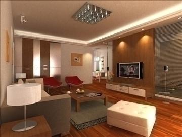 living room 25 3d model max 94622