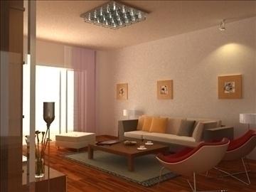 living room 25 3d model max 94623