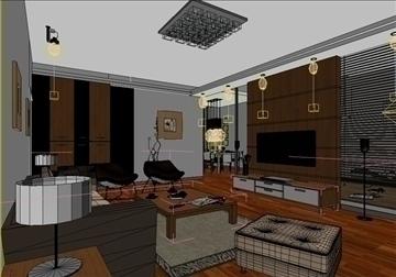living room 25 3d model max 94624