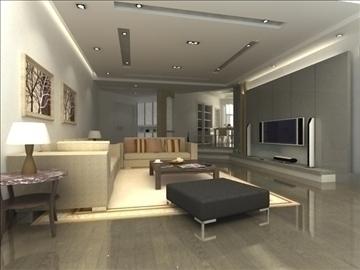 living room 26 3d model max 94625